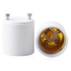 billige LED-tilbehør-2stk GU 24 til E27 / E26 E27 Lysstik