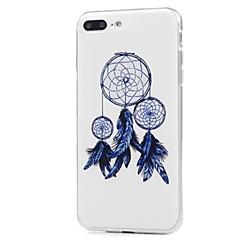Кейс для Назначение Apple iPhone X iPhone 8 iPhone 8 Plus С узором Задняя крышка Ловец снов Мягкий TPU для iPhone X iPhone 8 Plus iPhone