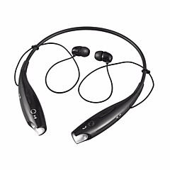 זול אוזניות-HBS-730 באוזן אלחוטי אוזניות דִינָמִי פלסטי טלפון נייד אֹזְנִיָה מגנט אטרקציה עם בקרת עוצמת הקול עם מיקרופון אוזניות