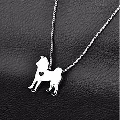 billige Hundetøj og tilbehør-Hund Halskæde Hundetøj Afslappet/Hverdag Ensfarvet Guld Sølv Kostume For kæledyr
