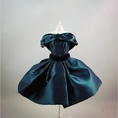 パーティー/イブニング ドレス ために バービー人形 ダークネイビー ドレス ために 女の子の 人形玩具