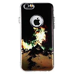 Кейс для Назначение Apple iPhone X iPhone 8 iPhone 8 Plus Защита от удара Задняя крышка Пейзаж Мягкий TPU для iPhone X iPhone 8 Plus
