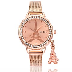 cheap Men's Watches-Men's Women's Chinese Quartz Stainless Steel Alloy Band Luxury Casual Butterfly Cool Silver Gold Rose Gold