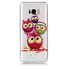 Funda Para Samsung Galaxy S8 Plus S8 Transparente Diseños Cubierta Trasera Búho Suave TPU para S8 S8 Plus S7 edge S7 S6 edge S6
