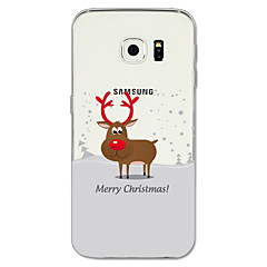 Case Kompatibilitás Samsung Galaxy S8 Plus S8 Minta Hátlap Karácsony Puha TPU mert S8 S8 Plus S7 edge S7 S6 edge plus S6 edge S6