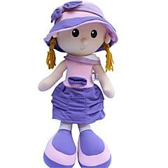 preiswerte -Plüschtiere Puppen Mädchen Puppe Spielzeuge Zeichentrick Mode Hochzeit Niedlich Für die Kinder Weich Cartoon Design Hochzeit Große Größe