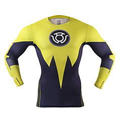 Homens Camiseta de Corrida Secagem Rápida Reduz a Irritação Leve para Ioga Correr Boxe Ciclismo Exercício e Atividade Física Fitness