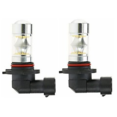 Недорогие Противотуманные фары-2pcs 9005 Автомобиль Лампы 100W SMD 5050 3000lm Светодиодные лампы Противотуманные фары