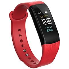 bym mężczyzna kobieta nowy ekran kolorowy b11 inteligentny nadgarstek monitor pracy serca monitorowania snu wodoodporna anty zgubiony