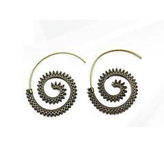 preiswerte Ohrringe-Damen Kreolen - Tropfen, Blume Süß Gold / Silber / Bronze Für Hochzeit / Party / Geschenk