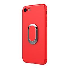 Недорогие Кейсы для iPhone 7-Кейс для Назначение IPhone 7 / iPhone 7 Plus / iPhone 6s Plus iPhone 7 / iPhone 7 Plus / iPhone 6 Plus Защита от удара Кейс на заднюю панель Сплошной цвет Мягкий ТПУ для iPhone 7 Plus / iPhone 7