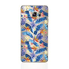 tanie Galaxy S6 Edge Etui / Pokrowce-Kılıf Na Samsung Galaxy S8 Plus S8 Wzór Czarne etui Kwiaty Drzewo Miękkie TPU na S8 Plus S8 S7 edge S7 S6 edge plus S6 edge S6