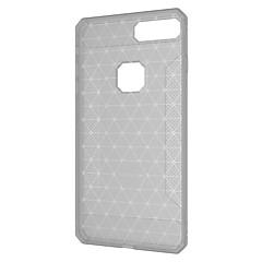 Недорогие Кейсы для iPhone 5-Кейс для Назначение Apple iPhone X iPhone 8 Plus Матовое Кейс на заднюю панель Сплошной цвет Геометрический рисунок Мягкий ТПУ для iPhone