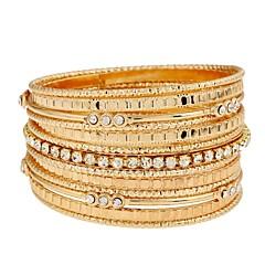 preiswerte Armbänder-Damen Armreife Wickelarmbänder - Diamantimitate Erklärung, Klassisch, Modisch Armbänder Gold Für Alltag Abiball