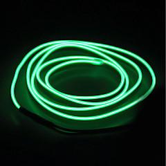 preiswerte LED Lichtstreifen-BRELONG® 5m Leuchtgirlanden 0 LEDs EL Weiß / Rot / Blau Wasserfest / Selbstklebend <5 V