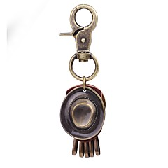 Keychains Jewelry Leather Alloy Circle Classic Vintage Daily Holiday