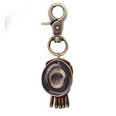 Breloki Biżuteria Skórzany Stop Circle Shape Klasyczny Vintage Codzienny Urlop