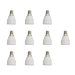 tanie Akcesoria LED-Prosty GU10 10pcs E14 do GU10 Akcesoria oświetleniowe Złącze żarówki