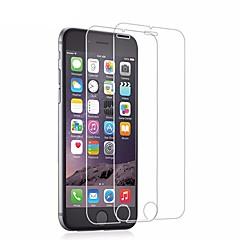 abordables Protectores de Pantalla para iPhone 6s / 6-Protector de pantalla para Apple iPhone 6s / iPhone 6 Vidrio Templado 2 pcs Protector de Pantalla / Protector de Pantalla Frontal Alta definición (HD) / Dureza 9H / Borde Curvado 2.5D
