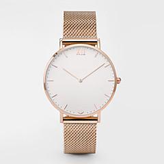 preiswerte Tolle Angebote auf Uhren-Damen Sportuhr Chinesisch Chronograph Edelstahl Band Freizeit / Elegant / Modisch Silber / Rotgold