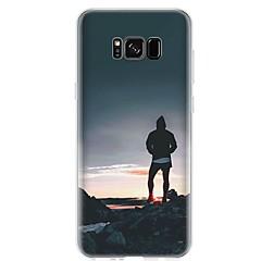 abordables Galaxy S3 Mini Carcasas / Fundas-Funda Para S8 S7 Diseños Cubierta Trasera Paisaje Suave TPU para S8 S8 Plus S7 edge S7 S6 edge plus S6 edge S6 S6 Active S5 Mini S5