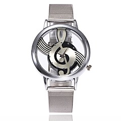 Women's Casual Watch Fashion Watch Dress Watch Wrist watch Chinese Quartz Alloy Metal Band Luxury Casual Silver
