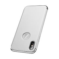 Недорогие Кейсы для iPhone 6 Plus-Кейс для Назначение Apple iPhone X iPhone 8 Покрытие Кейс на заднюю панель Сплошной цвет Твердый ПК для iPhone X iPhone 8 Pluss iPhone 8
