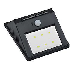 voordelige Buitenlampen-1pc 2W LED-schijnwerperlampen Infrarood Sensor Decoratief Buitenverlichting Natuurlijk wit <5V