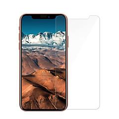 Недорогие Защитные пленки для iPhone X-Защитная плёнка для экрана Apple для iPhone X Закаленное стекло 1 ед. Защитная пленка для экрана 2.5D закругленные углы Уровень защиты 9H