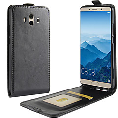 Case For Huawei Mate 10 lite Mate 10 Card Holder Flip Full Body Solid Color Hard PU Leather for Huawei Mate 10 Huawei Mate 10 pro Huawei
