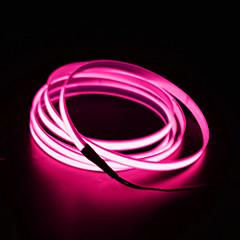 お買い得  LED ストリングライト-BRELONG® 3M ストリングライト 0 LED EL ホワイト / レッド / ブルー 防水 / ノンテープ・タイプ 12 V 1個