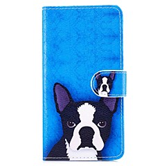 Case For Apple iPhone X iPhone 8 Plus Card Holder Shockproof with Stand Pattern Full Body Dog Hard PU Leather for iPhone X iPhone 8 Plus