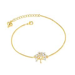 preiswerte Armbänder-Damen Ketten- & Glieder-Armbänder - vergoldet Armbänder Gold / Silber Für Hochzeit / Party / Baum des Lebens