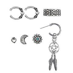 voordelige Oorringen-Dames Oorknopjes Ring oorbellen Hars Legering Dromenvanger Sieraden Club Straat Kostuum juwelen