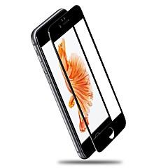 Недорогие Защитные плёнки для экранов iPhone 7 Plus-Защитная плёнка для экрана для Apple iPhone 7 Plus Закаленное стекло 1 ед. Защитная пленка на всё устройство HD / Уровень защиты 9H / 2.5D закругленные углы