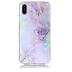 お買い得  iPhone 5S/SE ケース-ケース 用途 Apple iPhone X iPhone 8 IMD パターン バックカバー マーブル ソフト TPU のために iPhone X iPhone 8 Plus iPhone 8 iPhone 7 Plus iPhone 7 iPhone 6s Plus