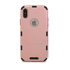 Недорогие Кейсы для iPhone X-Кейс для Назначение Apple iPhone X / iPhone 8 Ультратонкий Чехол Однотонный Твердый ТПУ для iPhone X / iPhone 8 Pluss / iPhone 8