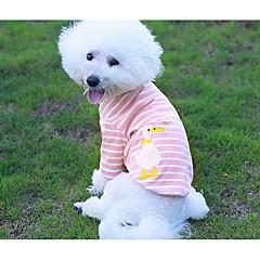 Σκύλος Πουλόβερ Ρούχα για σκύλους Καθημερινά Βρετανικό Ροζ Πράσινο Ανοικτό Στολές Για κατοικίδια