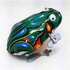 태엽 장난감 장난감 개구리 동물 조각 선물