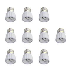 halpa LED-tarvikkeet-10pcs E27 to GU10 GU10 Light Socket Yksinkertainen