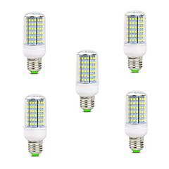 5pcs 10W E14 B22 E26/E27 LED-kolbepærer T 126 leds SMD 2835 Dekorativ Varm hvid Kold hvid 900-1000lm 2800-3200/6000-6500K Vekselstrøm