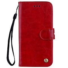 tok Για Xiaomi Redmi Note 4X Redmi 4Χ Πορτοφόλι Θήκη καρτών με βάση στήριξης Ανοιγόμενη Μαγνητική Πλήρης κάλυψη Συμπαγές Χρώμα Σκληρή PU