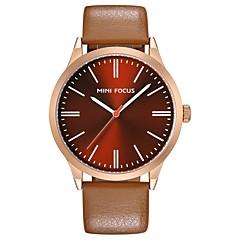 お買い得  大特価腕時計-男性用 リストウォッチ ホット販売 本革 バンド カジュアル / ファッション ブラック / ブルー / グレー