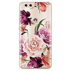 olcso Huawei tokok-Case Kompatibilitás Huawei P10 Lite Minta Hátlap Virág Puha TPU mert Huawei P10 Plus Huawei P10 Lite Huawei P10 Huawei P9 Huawei P9 Lite