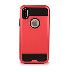 Кейс для Назначение Apple iPhone X iPhone 8 Защита от удара Чехол Сплошной цвет Твердый TPU для iPhone X iPhone 8 Plus iPhone 8 iPhone 7