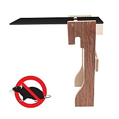 Plank Mouse Trap - Humane Bucket Rat Traps - Walk the Plank Automatic Reset Mouse Killer for Mice & Other Pests & Rodents