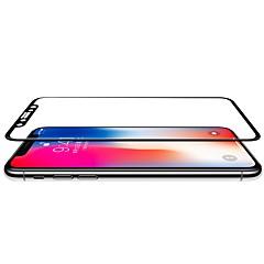 Недорогие Защитные пленки для iPhone X-Защитная плёнка для экрана Apple для iPhone X PE 1 ед. Защитная пленка на всё устройство 3D закругленные углы Антибликовое покрытие