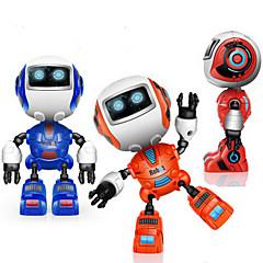 RC Robot Lärande & Utbildning 2.4G Legering Med högtalare Music Fritid Ljusglimmer Mini Sound Out Nej