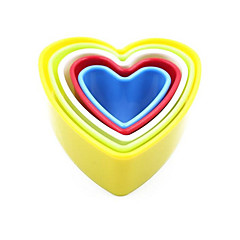 Cake Molds Heart-Shaped Bread Cake Plastics Baking Tool