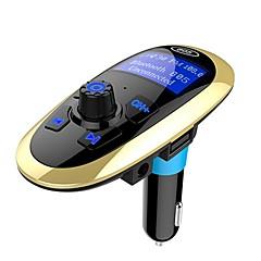 Недорогие Bluetooth гарнитуры для авто-bluetooth handsfree fm передатчик автомобильный комплект mp3-плеер sd usb lcd автомобильные аксессуары